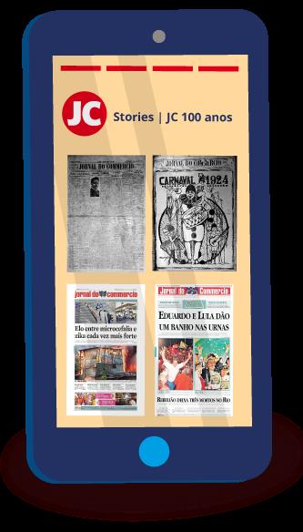 A capa em stories