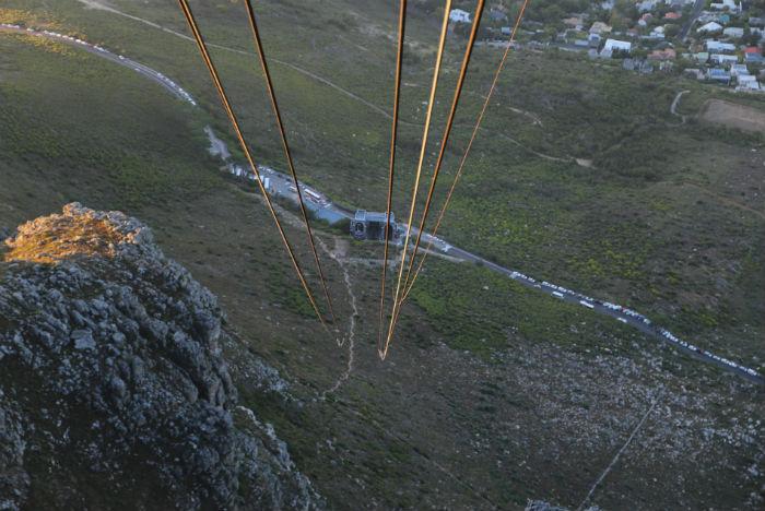 Platô em forma de mesa está a 1.086 metros de altura