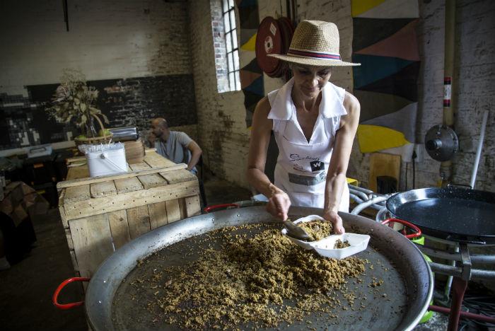 Todos os sabores de Joburg estão disponíveis no Market on Main