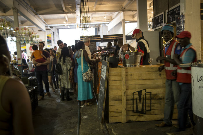 Feira gastronômica de Maboneng atrai turistas e residentes para o Centro