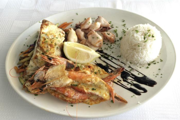 Pescados e mariscos são a base da gastronomia local