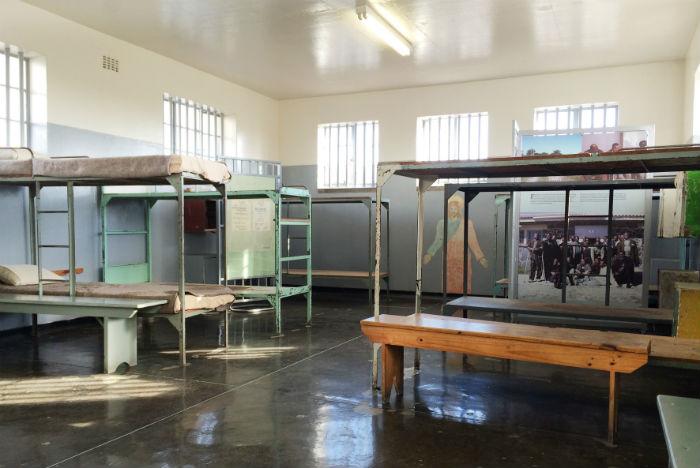Reunir os rebeldes na mesma prisão foi o maior erro do regime do apartheid