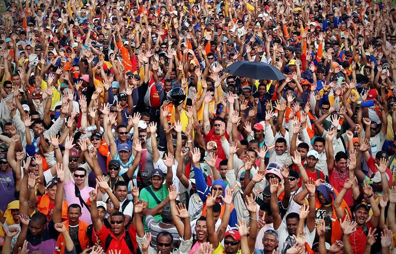 Refinaria Abreu e Lima teve 45 mil trabalhadores no pico da obra - Foto: Fernando da Hora/JC Imagem