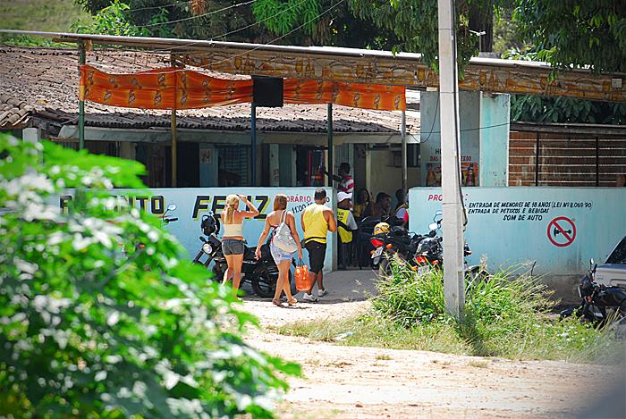 Prostíbulo Recanto Feliz, no Cabo, foi um dos principais pontos de encontro dos trabalhadores de Suape - Foto: Bobby Fabisak/JC Imagem