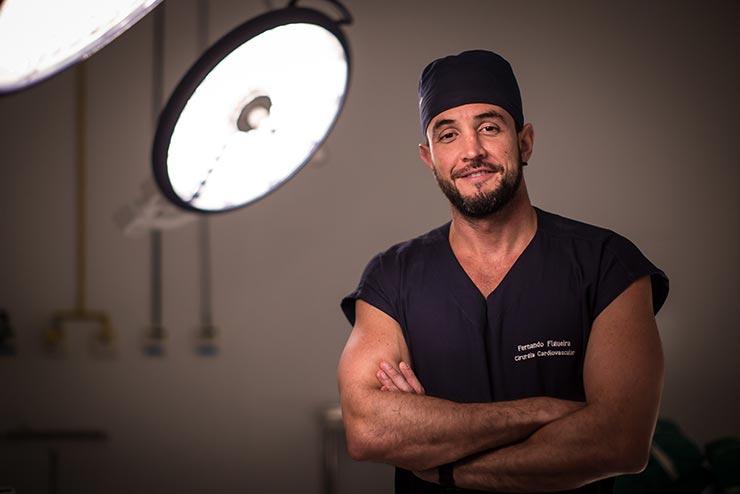 Cirurgião cardíaco Fernando Figueira